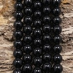 Black Spinel 10mm Round
